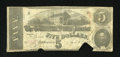 """Confederate Notes:1863 Issues, T60 Criswell 450A Fricke PF-4 $5 1863. This is the rare error wherethe note reads """"st SERIES"""" instead of """"1st SERIES."""" This..."""