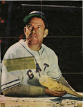 Autographs:Cut-outs, Mel Ott Signed Vintage Magazine Page. Taken from the pages of avintage periodical, this page features Hall of Famer Mel Ot...