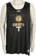 Basketball Collectibles:Uniforms, Allen Iverson Practice Worn Jersey. Regarded as one of the finestpure scoring point guards to ever run a basketball team, ...