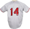 Autographs:Jerseys, Jim Rice Signed Jersey. The iconic Boston Red Sox jersey seen hereis a replica of the one worn by the beloved Boston Red S...