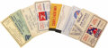"""Transportation:Aviation, Group of 15 Early Aviation Show Tickets and Passes, 1920s and1930s, averaging 4"""" x 2.5"""", including: Copper guest """"tickets"""" ...(Total: 15 Item)"""
