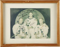 "Autographs:Celebrities, Apollo 11 Signed Color Crew Photograph, 9.5"" x 7.25"" matted to12.5"" x 9.5"", inscribed on the photo ""To Snooky - With/ tha...(Total: 1 Item)"