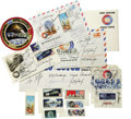 Autographs:Celebrities, Apollo-Soyuz Test Project - Collection of Signed Items. The 1975ASTP mission was the first joint project between the U.S. a...(Total: 10 Item)
