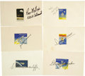Autographs:Celebrities, Challenger Crew STS-51L Autograph Collection. On January 28, 1986,73 seconds after liftoff, the Challenger space shuttl...(Total: 1 Item)