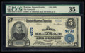 National Bank Notes:Pennsylvania, Warren, PA - $5 1902 Plain Back Fr. 603 The Warren NB Ch. # 4879....