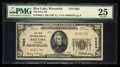 National Bank Notes:Wisconsin, Rice Lake, WI - $20 1929 Ty. 1 The First NB Ch. # 6663. ...