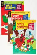 Bronze Age (1970-1979):Cartoon Character, Walt Disney's Comics and Stories #351-395 Group (Gold Key, 1969-73)Condition: Average FN.... (Total: 45 Comic Books)