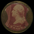 Encased Postage: , HB-6 EP-32a 3¢ Ayer's Cathartic Pills Long Arrows Extremely Fine.....