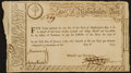 Colonial Notes:Massachusetts , State of Massachusetts Bay £150 Treasury Certificate Advance Pay toOfficers, Second Moiety at 6% Interest July 20, 1779. Ande...