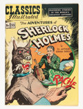 Golden Age (1938-1955):Adventure, Classics Illustrated #33 The Adventures of Sherlock Holmes - HRN 53 (Gilberton, 1947) Condition: VG/FN....