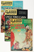 Golden Age (1938-1955):Classics Illustrated, Classics Illustrated #8, 15, and 31 Group (Gilberton, 1948)....(Total: 3 Comic Books)