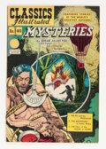 Golden Age (1938-1955):Horror, Classics Illustrated #40 Mysteries - HRN 62 (Gilberton, 1947)Condition: FN/VF....