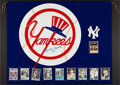 "Baseball Collectibles:Others, Mickey Mantle ""No. 7"" New York Yankees Oversized Plastic Emblem...."