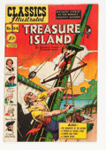 Golden Age (1938-1955):Classics Illustrated, Classics Illustrated #64 Treasure Island - Original Edition(Gilberton, 1949) Condition: VF....