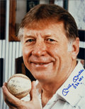 "Baseball Collectibles:Photos, Mickey Mantle ""536 HRs"" Signed Oversized Photograph...."