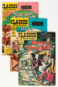 Golden Age (1938-1955):Classics Illustrated, Classics Illustrated First Editions Group (Gilberton, 1947-50)....(Total: 4 Comic Books)
