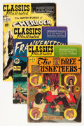 Golden Age (1938-1955):Classics Illustrated, Classics Illustrated Golden (Gilberton, 1951-53) Condition: AverageVG+.... (Total: 21 Comic Books)