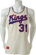 Basketball Collectibles:Uniforms, 1973-74 Larry McNeil Game Worn Kansas City-Omaha Kings RookieJersey....