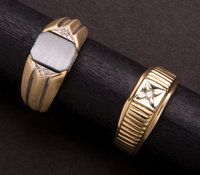 Gent's Two Gold Rings