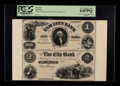 Obsoletes By State:Connecticut, New Haven, CT- The Elm City Bank 18 __ $1-$2 G2-G4 Uncut Pair Proof. ...