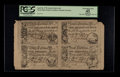 Colonial Notes:South Carolina, South Carolina April 10, 1778 2s 6d, 3s 9d, 5s, 10s Uncut Sheet ofFour PCGS Apparent Extremely Fine 45.. ...