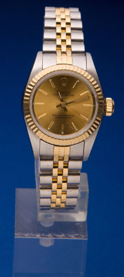Rolex Lady's Steel & Gold Oyster Perpetual, circa 1995