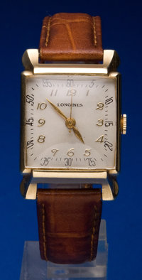 Longines 14k Center Seconds Wristwatch