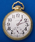 Timepieces:Pocket (post 1900), Illinois 23 Jewel Bunn Special Open Face Pocket Watch. ...