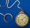 Timepieces:Pendant , Illinois 21 Jewel Bunn Special Pocket Watch. ...