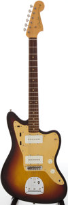 Musical Instruments:Electric Guitars, 1959 Fender Jazzmaster Sunburst Solid Body Electric Guitar, Serial # 37250....