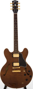 Musical Instruments:Electric Guitars, 2003 Gibson ES-335 Walnut Semi-Hollow Body Electric Guitar, Serial #01073710....