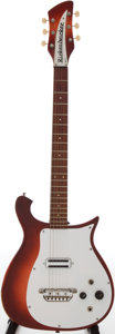 Musical Instruments:Electric Guitars, 1964 Rickenbacker 425 Fireglo Solid Body Electric Guitar, Serial #DF 728....