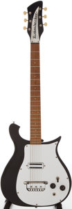 Musical Instruments:Electric Guitars, 1967 Rickenbacker 425 Black Solid Body Electric Guitar, Serial # GI3924....