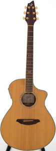 Musical Instruments:Acoustic Guitars, 1990s Breedlove AC25\SR Plus Natural Acoustic Guitar, Serial #06085197....
