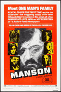 "Movie Posters:Documentary, Manson (American International, 1973). One Sheet (27"" X 41""). Documentary.. ..."