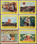 "Movie Posters:Adventure, Around the World in 80 Days (United Artists, 1958). Title LobbyCard & Lobby Cards (5) (11"" X 14""). Adventure.. ... (Total: 6Items)"