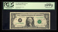 Error Notes:Doubled Third Printing, Fr. 1911-K $1 1981 Federal Reserve Note. PCGS Very Fine 25PPQ.. ...