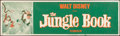 "Movie Posters:Animated, The Jungle Book (Buena Vista, 1967). Banner (24"" X 82""). Animated.. ..."