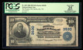 National Bank Notes:Tennessee, Shelbyville, TN - $10 1902 Plain Back Fr. 625 The Peoples NB Ch. #3530. ...