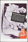 """Movie Posters:Adult, Siv, Anne, and Sven and Other Lot (Associated Film Distributors, 1971). One Sheets (2) (27"""" X 41""""). Adult.. ... (Total: 2 Items)"""