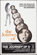 """Movie Posters:Adult, The Journey of O (Equal Opportunity, 1975). One Sheet (27"""" X 41""""). Adult.. ..."""