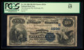 National Bank Notes:Pennsylvania, Pittsburgh, PA - $10 1882 Date Back Fr. 542 The Diamond NB Ch. #(E)2236. ...
