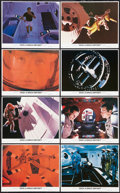 """Movie Posters:Science Fiction, 2001: A Space Odyssey (MGM, R-1980). Mini Lobby Card Set of 8 (8"""" X10""""). Science Fiction.. ... (Total: 8 Items)"""
