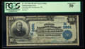 National Bank Notes:Wisconsin, Menomonie, WI - $10 1902 Date Back Fr. 616 The First NB Ch. # (M)2851. ...
