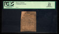 Colonial Notes:Continental Congress Issues, Continental Currency February 17, 1776 $1/6 PCGS Apparent Fine 15.....