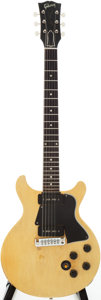 Musical Instruments:Electric Guitars, 1958 Gibson Les Paul Special TV Yellow Solid Body Electric Guitar, Serial #7172....