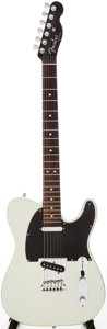 Musical Instruments:Electric Guitars, 2001 Fender Telecaster Silver Sparkle Solid Body Electric Guitar,Serial # Z1013026....