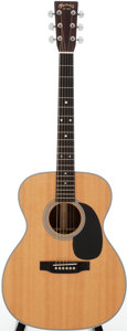 Musical Instruments:Acoustic Guitars, 2009 Martin 000-28 Natural Acoustic Guitar, Serial # 1367104....