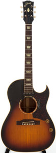 Musical Instruments:Acoustic Guitars, 1958 Gibson CF-100-E Sunburst Acoustic Electric Guitar, Serial # 12608....