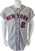 Baseball Collectibles:Uniforms, 1968 Phil Linz Game Worn New York Mets Jersey....